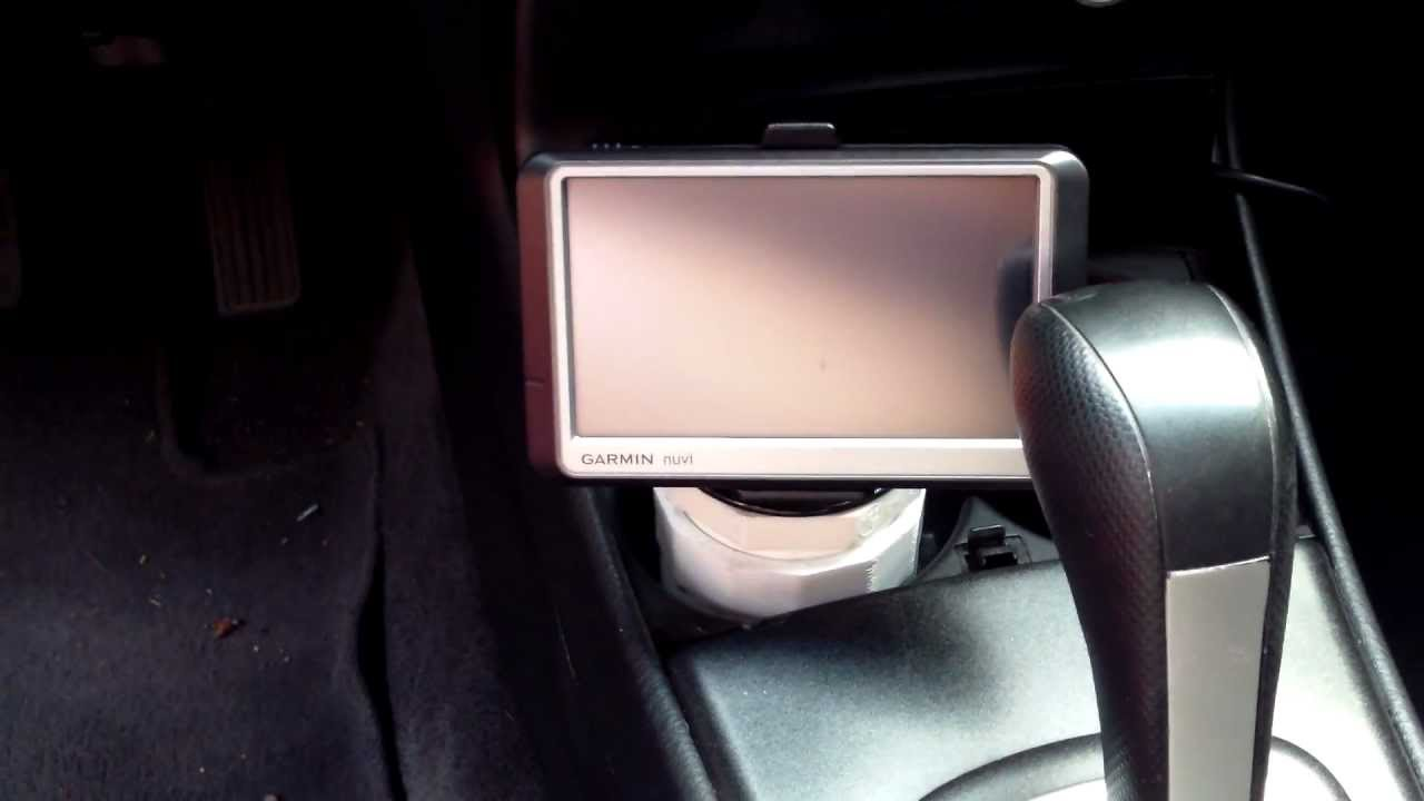 Gps Car Mount: How To Mount A GPS In Your Car Garmin Nuvii Tom Tom