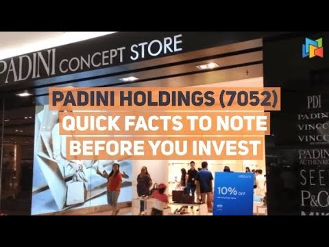 Padini Holdings - Quick Facts To Know Before You Invest