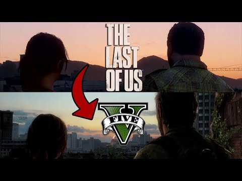 The Last of Us Trailer Recreated in GTA 5 Side-by-side Comparison!
