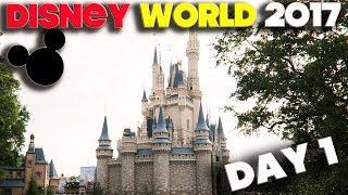 WALT DISNEY WORLD 2017 - ORLANDO FLORIDA - DAY 1 - MAGIC KINGDOM