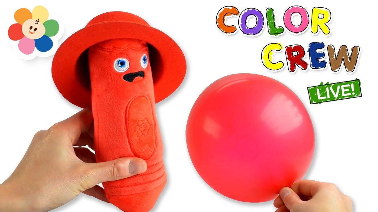 Learn Colors With Colorful Toys For Children Color Crew