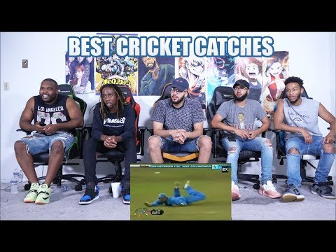 Top 10 Best Amazing Catches In Cricket History REACTION