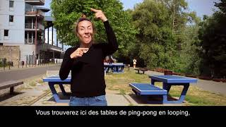Ping-Pong Park / Laurent Perbos / vidéo en LSF