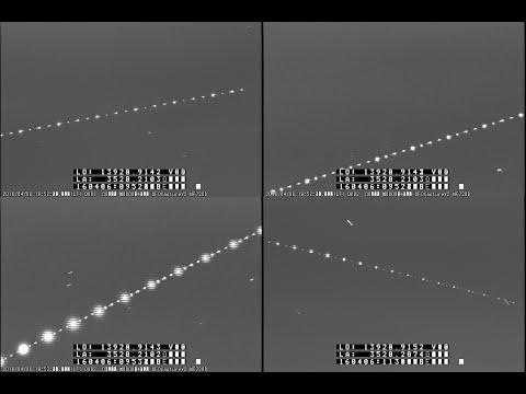X線天文衛星「ひとみ」(ASTRO-H)の様子 (4/6) 【撮影:平塚市博物館】