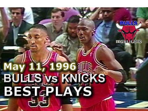 May 11 1996 Bulls vs Knicks game 3 highlights
