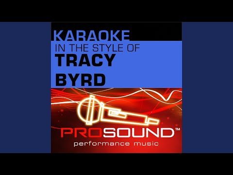 Ten Rounds With Jose Cuervo (Karaoke With Background Vocals) (In the style of Tracy Byrd)