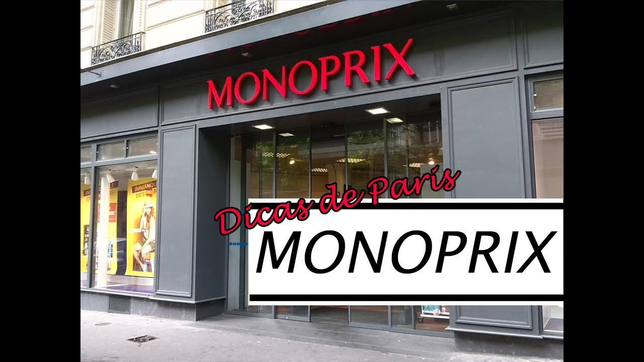 Dicas de Paris  compras no Monoprix (com preços) - YouTube 5ca4689ef3