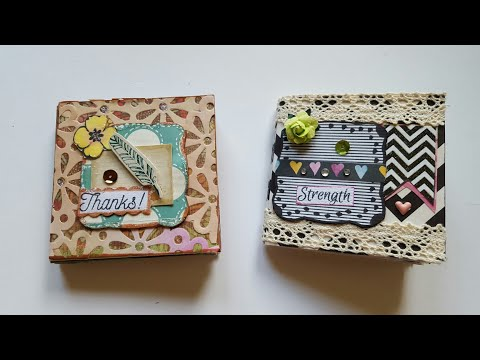"I MADE MY FIRST MINI BOOK 3"" x 3"" 