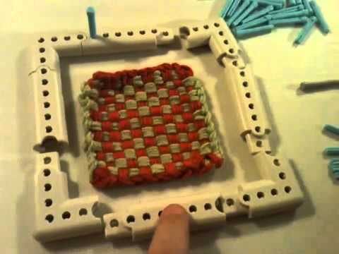 Tips Tricks On Martha Stewart Crafts Knit Weave Loom Kit Youtube