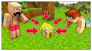 COME VIVERE DENTRO LA CASA LUCKY BLOCK PIÙ PICCOLA DEL MONDO! - Minecraft ITA