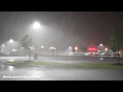 Severe Storm Squall, High Winds in Albany NY. May 23, 2019.