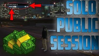 [XBOX ONE] GTA 5 How To Make A Solo Public Session!!