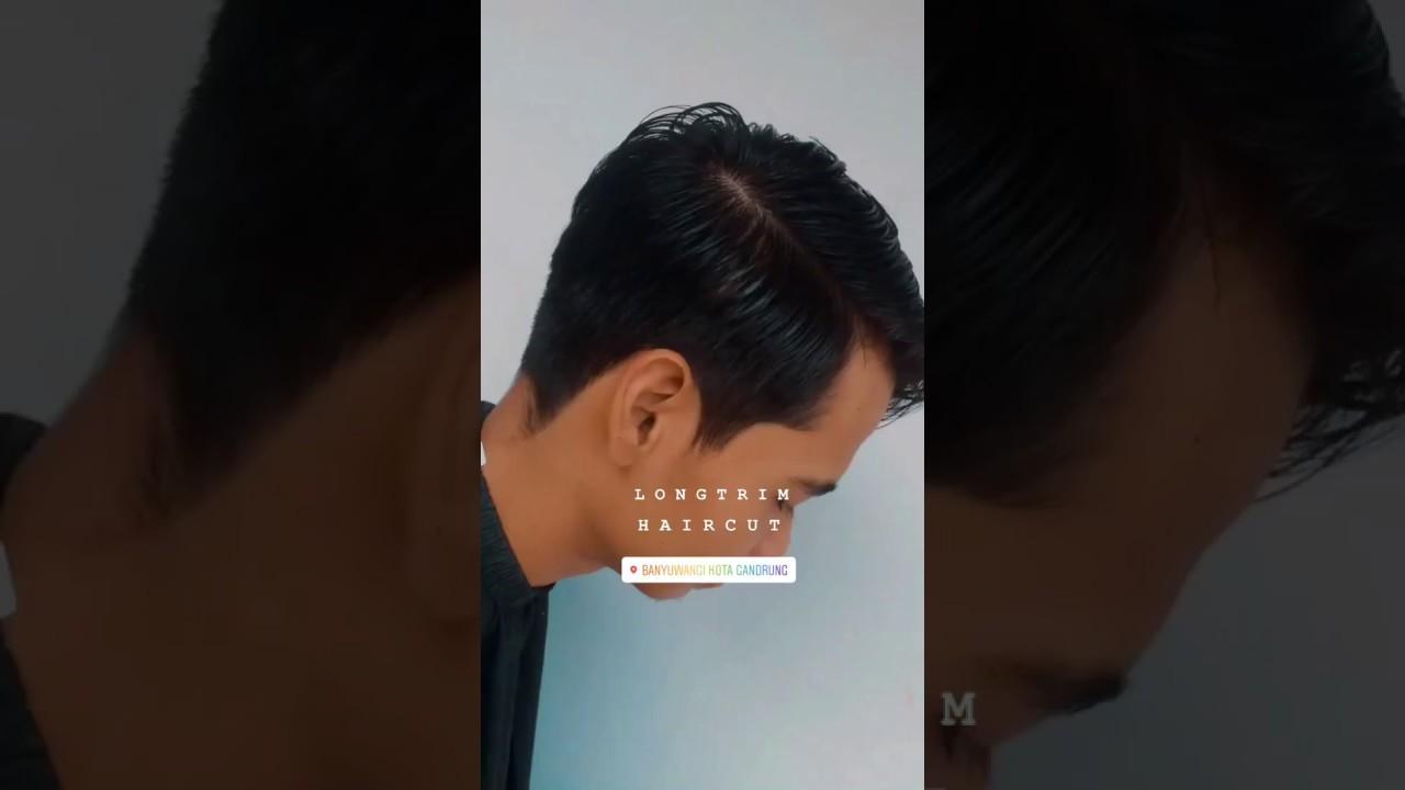 Model gaya rambut cocok untuk muka lonjong - YouTube