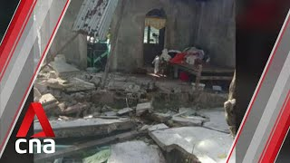 At least one killed after 6.6-magnitude earthquake rattles central Philippines