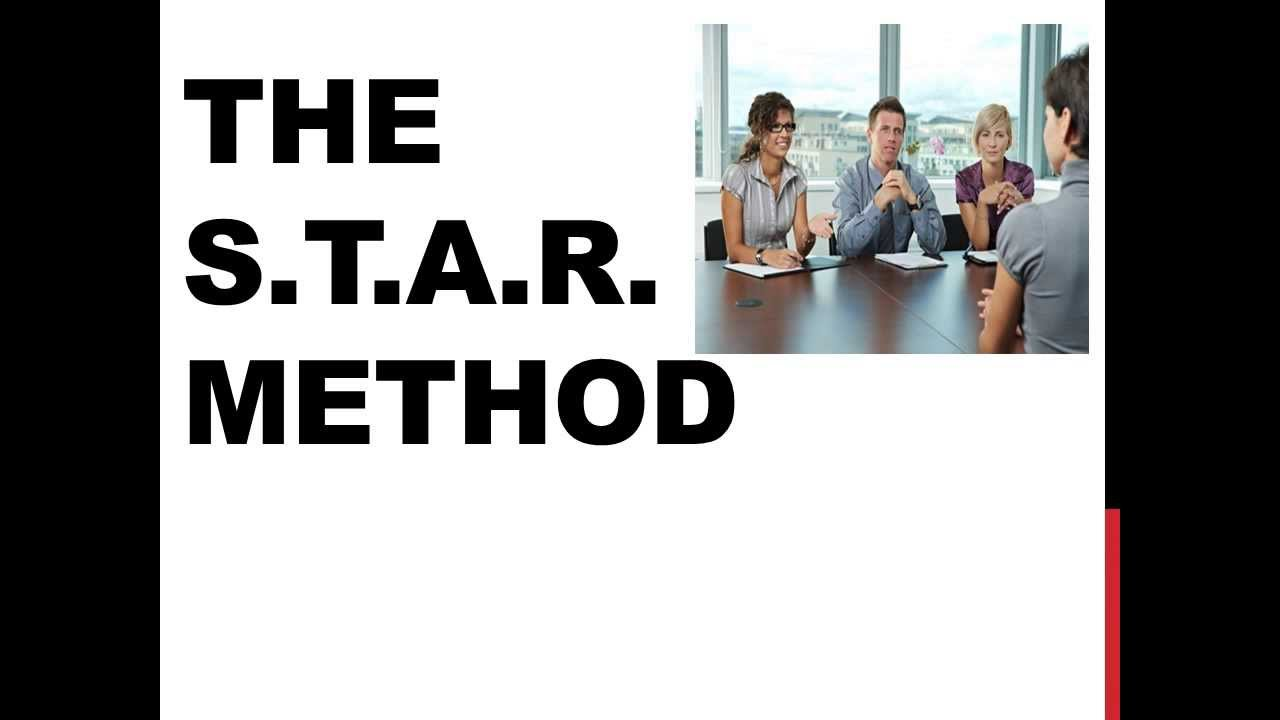 the star method the star method