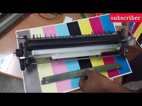How to clean 2Btr unit in Xerox 240,250,252,260,7765,7775 easy to clean.