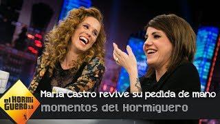 María Castro revive muy emocionada su pedida de mano en 'El Hormiguero 3.0' - El Hormiguero 3.0