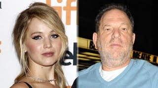 Jennifer Lawrence BLASTS Harvey Weinstein & More Stars Speak Out