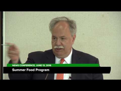 Summer Food Service Program; June 14, 2016