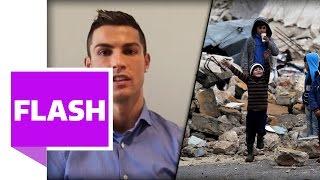 Ronaldo-Botschaft an Kinder in Syrien