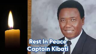 Captain Kibati, The selfless pilot who paid the ultimate price and succumbed to COVID-19