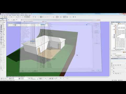 Archicad Mini Tutorial 17 Adding an extension