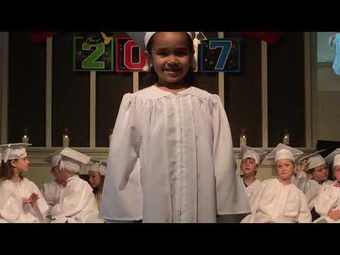 Zohreh Graduates Preschool Zoe' World