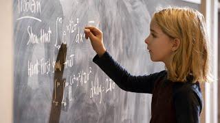 【越哥】7岁少女智商惊人秒杀大学教授上学第一天就要退学《天才少女》