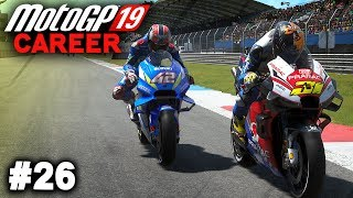 MotoGP 19 Career Mode Gameplay Part 26 - MOTOGP ASSEN 2019 FULL RACE BATTLE! (MotoGP 2019 Game)