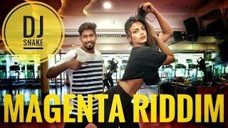 DJ snake - Magenta Riddim | Dance | choreography with inder verma & dimple paul