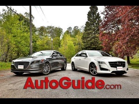 2015 Hyundai Genesis Sedan vs. 2014 Cadillac CTS Vsport