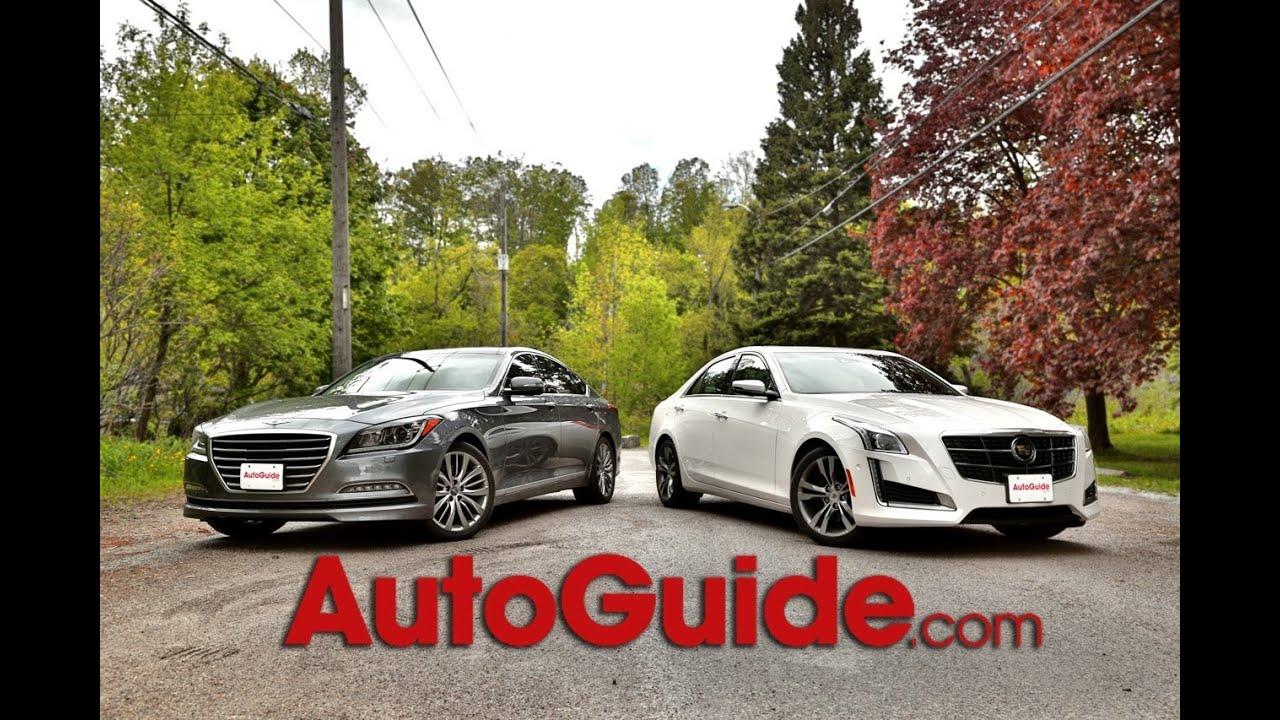 2015 Hyundai Genesis Sedan Vs 2014 Cadillac CTS Vsport
