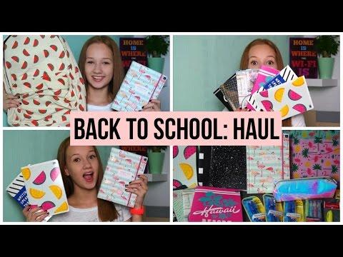 BACK TO SCHOOL '16| HAUL: PRZYBORY SZKOLNE