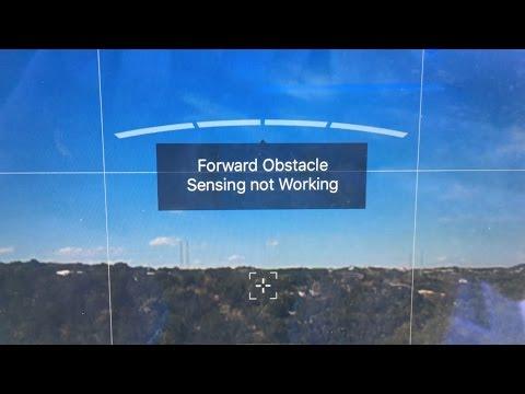 FIX DJI Phantom 4 Forward Obstacle Sensing Not Working