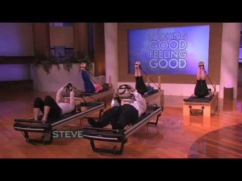 Steve Tries Pilates