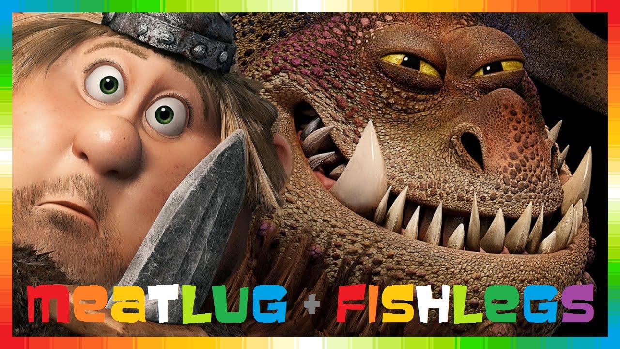 How To Train Your Dragon 2  Only Meatlug & Fishlegs  Drachenz�hmen Leicht  Gemacht 2  Gameplay