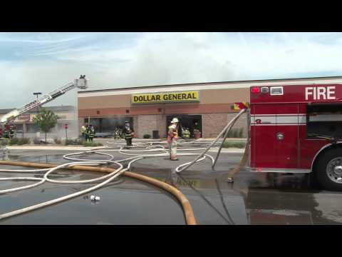 Structure Fire in Shopping Mall