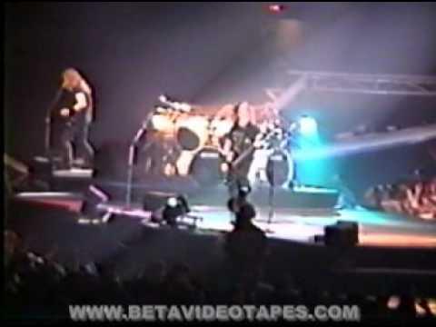 METALLICA LUBBOCK TEXAS 2-3-1992