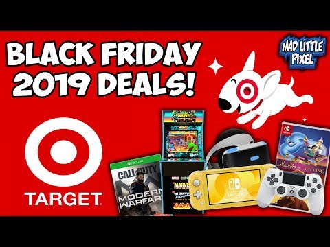 Black Friday 2019 Target Deals Revealed! Gaming & Electronics!