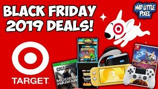 Black Friday 2019 Target Deals Revealed! Gaming & Electronics!