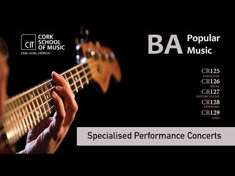 Kealan Kenny - BAPM - Specialised Pop Performance (Live Stream)