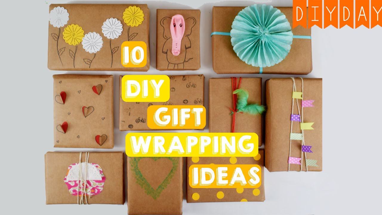 10 gift wrapping ideas quick easy ideas using brown paper 10 gift wrapping ideas quick easy ideas using brown paper diy day crafts youtube negle Choice Image