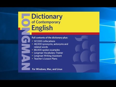download longman dictionary with activation free