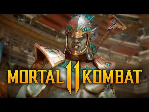 MORTAL KOMBAT  - Kotal Kahn Gameplay Breakdown w/ Skins, Custom Variations, Special-Moves & MORE!