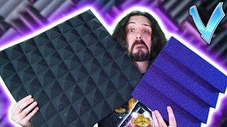 What is Sound Absorbing Foam? (Auralex vs Arrowzoom)