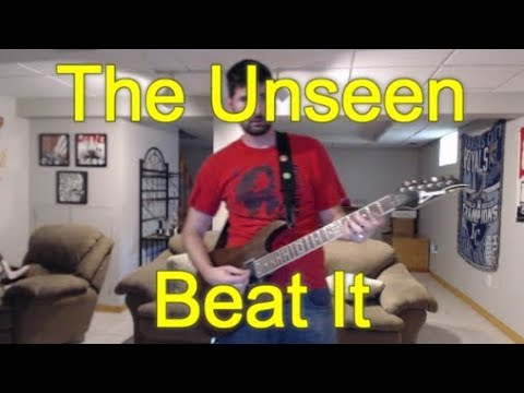 the unseen beat it guitar tab cover youtube. Black Bedroom Furniture Sets. Home Design Ideas