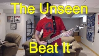 The Unseen - Beat It (Guitar Tab + Cover)