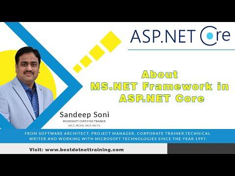 About MS .NET Framework In ASP.NET Core