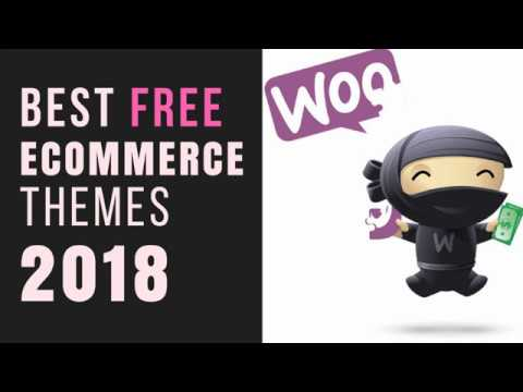 Best Free WordPress WooCommerce Themes 2018 - eCommerce