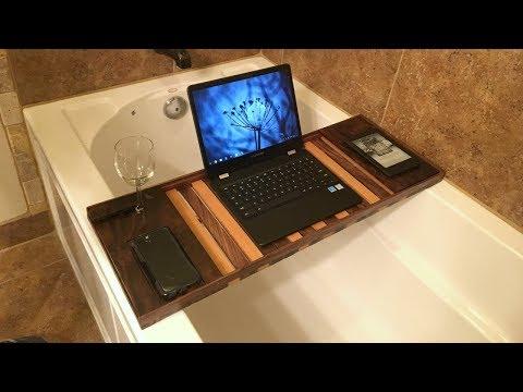 Making a Walnut Bath Caddy